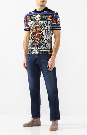 Мужские текстильные эспадрильи CASTANER серого цвета, арт. 021822 | Фото 2