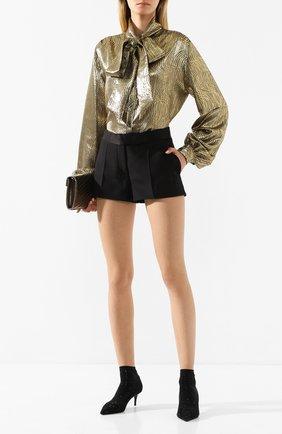 Женские кожаные ботильоны LE SILLA черного цвета, арт. 2118M060R8PPCAY | Фото 2