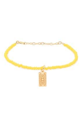 Женская браслет HERMINA ATHENS желтого цвета, арт. YCHTB | Фото 1