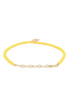 Женская браслет HERMINA ATHENS желтого цвета, арт. YCHTB | Фото 2