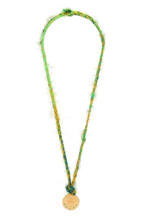 Женское колье HERMINA ATHENS зеленого цвета, арт. KLESYN | Фото 1