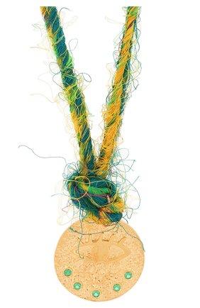 Женское колье HERMINA ATHENS зеленого цвета, арт. KLESYN | Фото 2