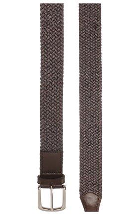 Мужской текстильный ремень BARRETT темно-коричневого цвета, арт. 91B555.3/ELASTIC0 | Фото 2
