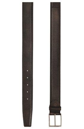 Мужской кожаный ремень BARRETT серого цвета, арт. 81B537.4/CERV0 ASP0RTABILE | Фото 3
