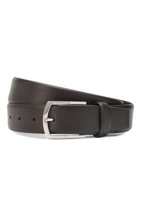 Мужской кожаный ремень BARRETT темно-коричневого цвета, арт. 31B336.37/C0RSAR0 | Фото 1