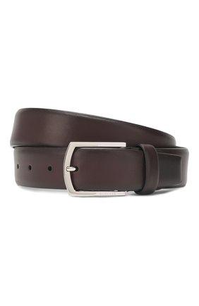 Мужской кожаный ремень с металлической пряжкой BARRETT бордового цвета, арт. 31B336.20/C0RSAR0 | Фото 1