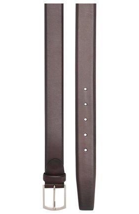 Мужской кожаный ремень с металлической пряжкой BARRETT бордового цвета, арт. 31B336.20/C0RSAR0 | Фото 2