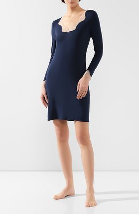 Женская сорочка ANTIGEL синего цвета, арт. ENA1306_син_1 | Фото 2