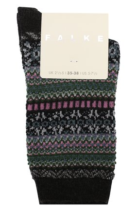 Женские носки FALKE серого цвета, арт. 46524_19_ | Фото 1