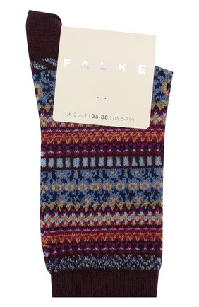 Женские носки FALKE коричневого цвета, арт. 46524_19_ | Фото 1