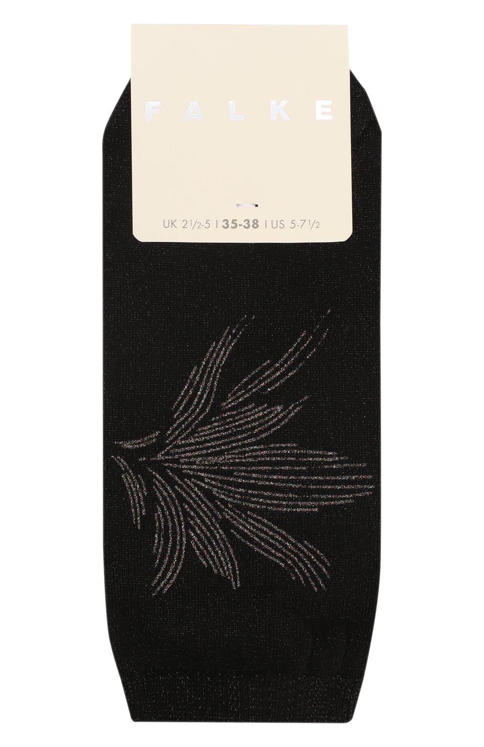 Женские носки FALKE черного цвета, арт. 46329_19_   Фото 1