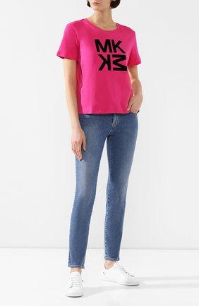 Женские джинсы BOSS синего цвета, арт. 50406782/J35 NEVILA 10215623 02 | Фото 2