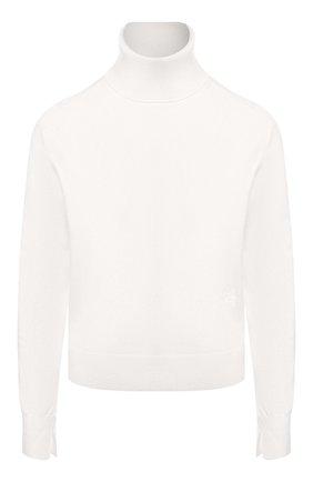 Женская кашемировая водолазка CHLOÉ белого цвета, арт. CHC20SMP24500 | Фото 1