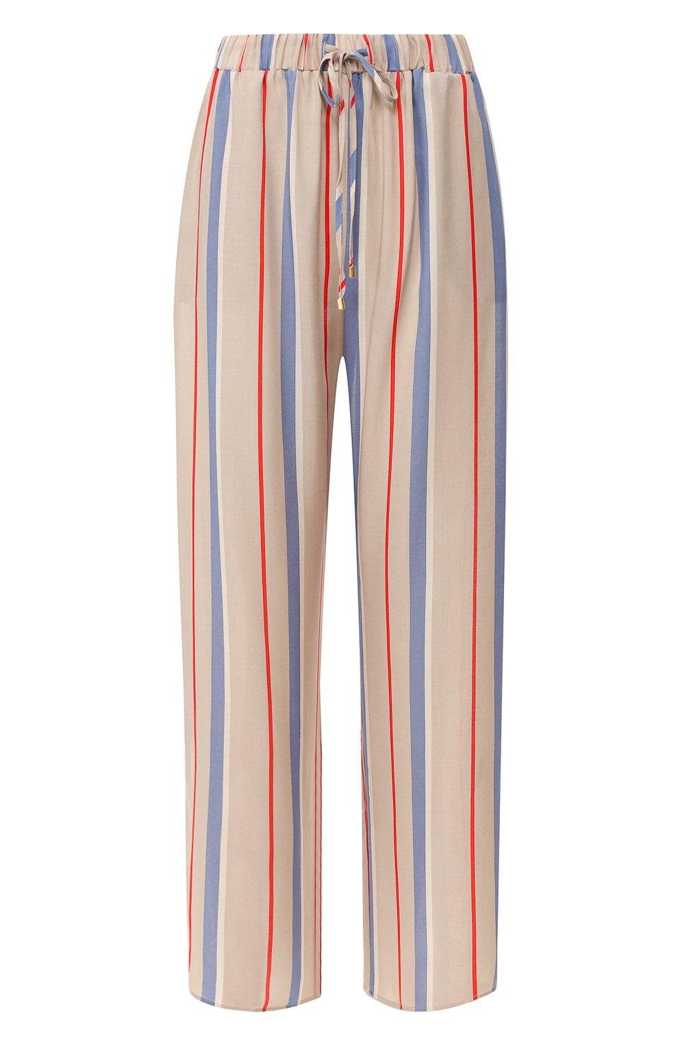 Женские брюки из вискозы HANRO разноцветного цвета, арт. 077617 | Фото 1