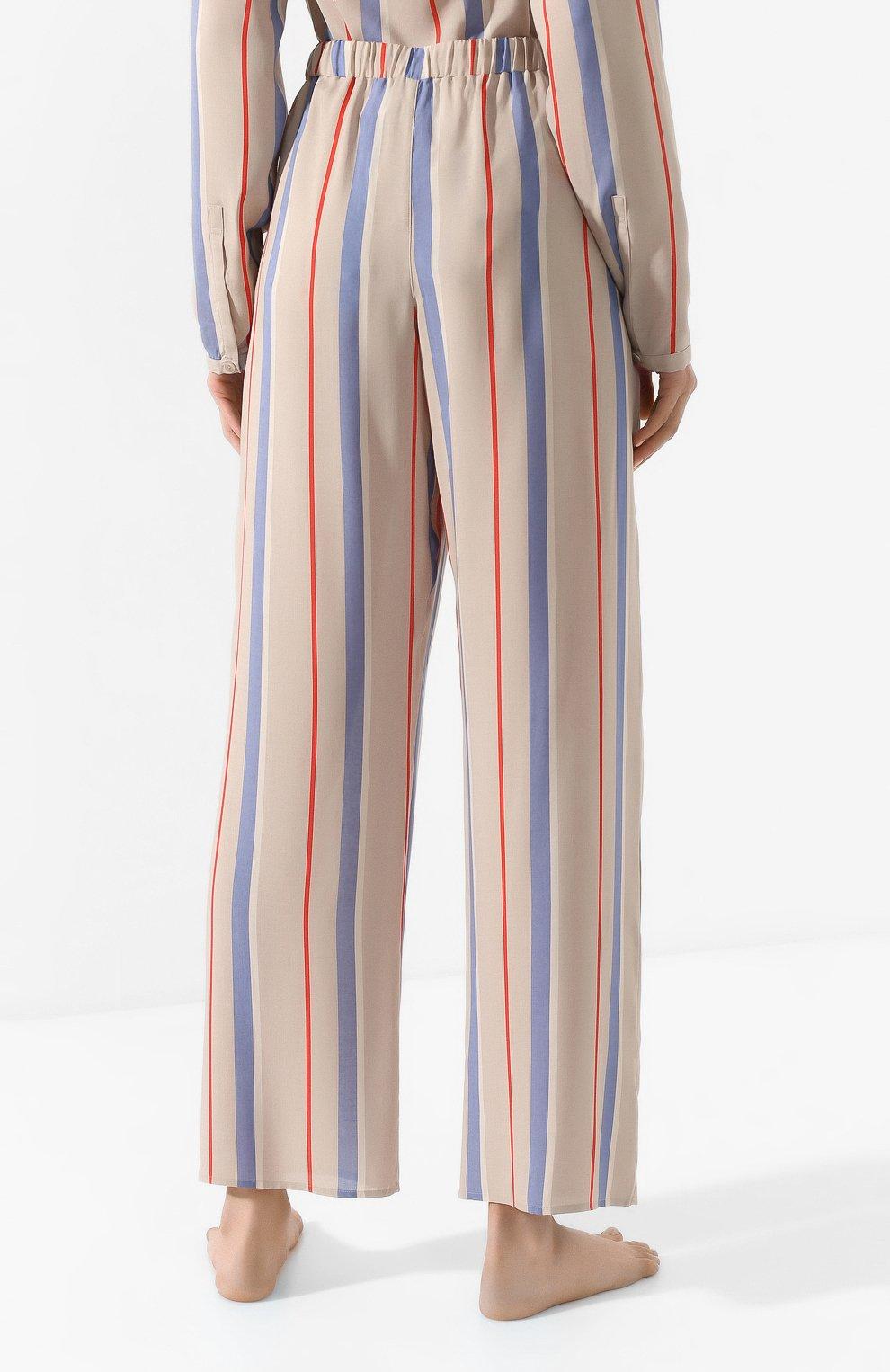 Женские брюки из вискозы HANRO разноцветного цвета, арт. 077617 | Фото 4