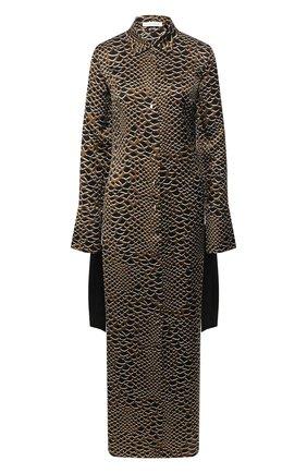 Женские шелковое платье OLIVIA VON HALLE разноцветного цвета, арт. PS2053 | Фото 1