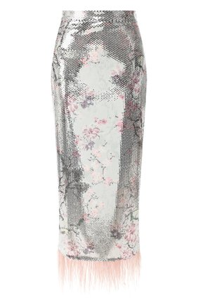 Женская юбка с пайетками IN THE MOOD FOR LOVE разноцветного цвета, арт. MICA SKIRT | Фото 1