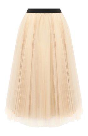 Женская юбка-миди IN THE MOOD FOR LOVE бежевого цвета, арт. MIRANDA SKIRT | Фото 1