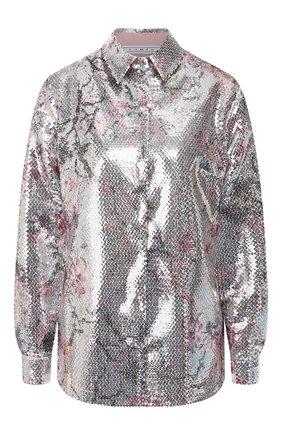Женская рубашка с пайетками IN THE MOOD FOR LOVE разноцветного цвета, арт. SABRINA SHIRT | Фото 1