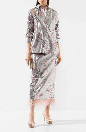 Женская рубашка с пайетками IN THE MOOD FOR LOVE разноцветного цвета, арт. SABRINA SHIRT | Фото 2