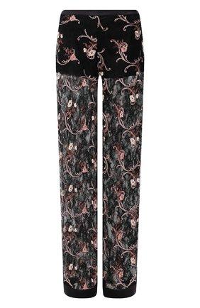 Женские кружевные брюки LA PERLA черного цвета, арт. 0044740 | Фото 1