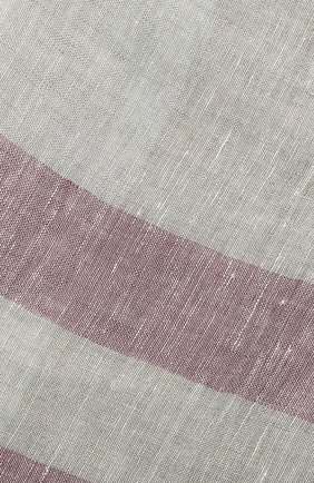 Мужской льняной шарф CORNELIANI бежевого цвета, арт. 85B229-0129018/00 | Фото 2