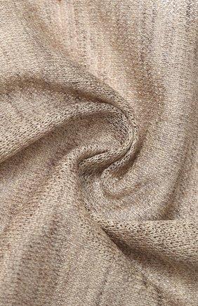Мужской платок из смеси льна и шелка CORNELIANI бежевого цвета, арт. 85UF50-0120392/00 | Фото 2