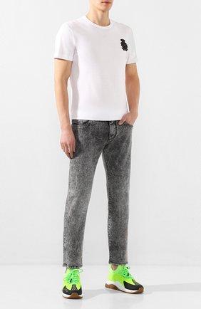 Мужские джинсы DOLCE & GABBANA серого цвета, арт. GY07CD/G8BS4 | Фото 2