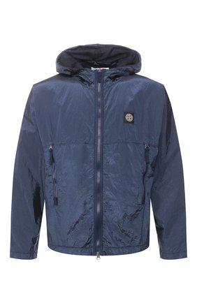Мужская куртка STONE ISLAND синего цвета, арт. 721544135 | Фото 1
