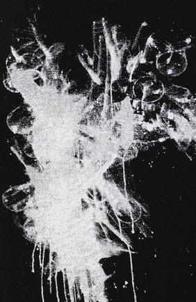 Мужская хлопковая футболка ISABEL BENENATO черного цвета, арт. UK03PS20 | Фото 5