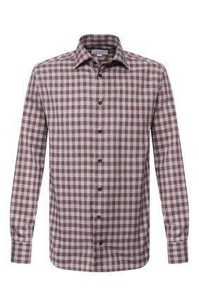 Мужская хлопковая рубашка ETON бордового цвета, арт. 1000 00831 | Фото 1