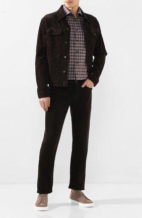 Мужская хлопковая рубашка ETON бордового цвета, арт. 1000 00831 | Фото 2