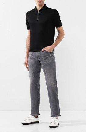 Мужские джинсы AG серого цвета, арт. 1174AHD/08YNC0 | Фото 2