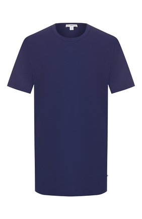 Мужская хлопковая футболка JAMES PERSE синего цвета, арт. MLJ3311 | Фото 1