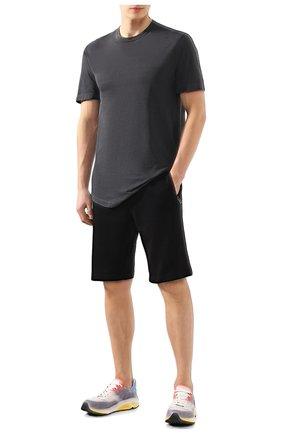 Мужская хлопковая футболка JAMES PERSE темно-серого цвета, арт. MKJ3360 | Фото 2
