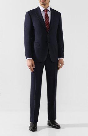 Мужская хлопковая сорочка CANALI сиреневого цвета, арт. XX05/GF00153 | Фото 2