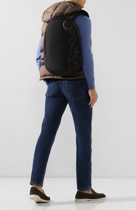 Мужской текстильный рюкзак CANALI черного цвета, арт. P325926/NY00089 | Фото 2