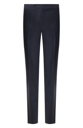 Мужские шерстяные брюки CANALI темно-синего цвета, арт. 71019/AA02524   Фото 1