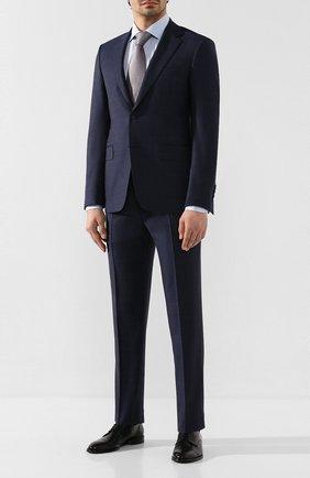 Мужской шерстяной костюм CANALI темно-синего цвета, арт. 21280/19/AA02524 | Фото 1