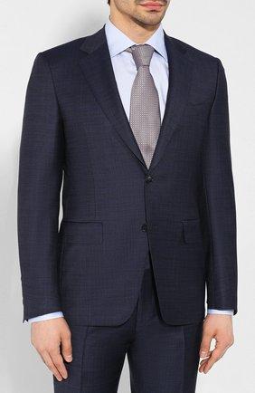 Мужской шерстяной костюм CANALI темно-синего цвета, арт. 21280/19/AA02524 | Фото 2