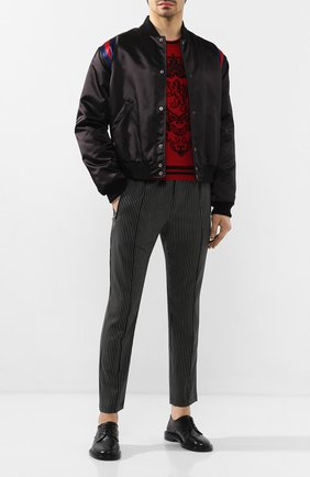 Мужской кожаные дерби LANVIN черного цвета, арт. FM-FSEM0U-NAPA-P20 | Фото 2