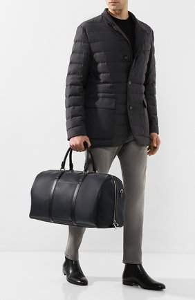 Мужская дорожная сумка stepan SERAPIAN темно-синего цвета, арт. SSTEPMTR2806M50E | Фото 2