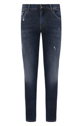 Мужские джинсы DOLCE & GABBANA синего цвета, арт. GYYJLD/G8CB9   Фото 1