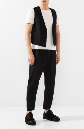 Мужские замшевые ботинки MARSELL черного цвета, арт. MMG350P/PELLE R0VESCI0 | Фото 2