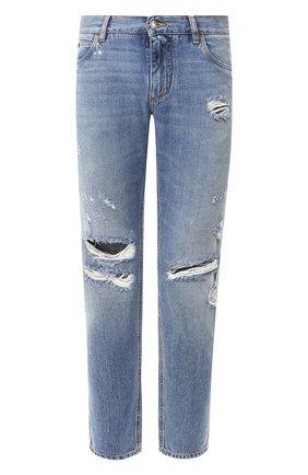 Мужские джинсы DOLCE & GABBANA голубого цвета, арт. GYJCCD/G8CB4 | Фото 1