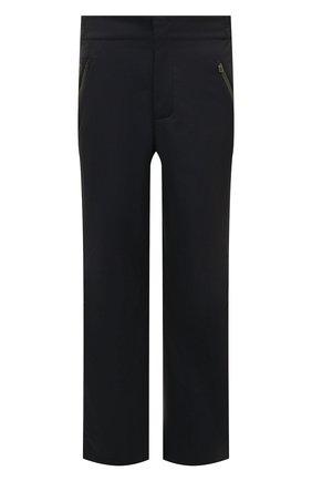 Мужской брюки LORO PIANA темно-синего цвета, арт. FAL0225 | Фото 1