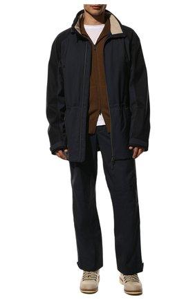 Мужской брюки LORO PIANA темно-синего цвета, арт. FAL0225 | Фото 2
