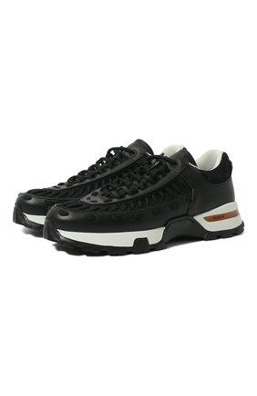 Комбинированные кроссовки Claudio | Фото №1