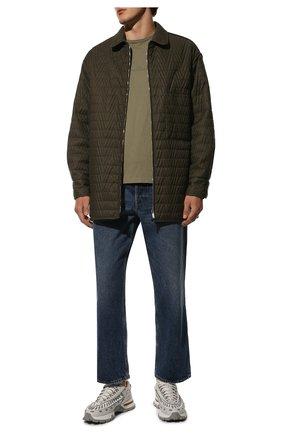 Мужские комбинированные кроссовки claudio ZEGNA COUTURE светло-серого цвета, арт. A4256X-LHSSP | Фото 2