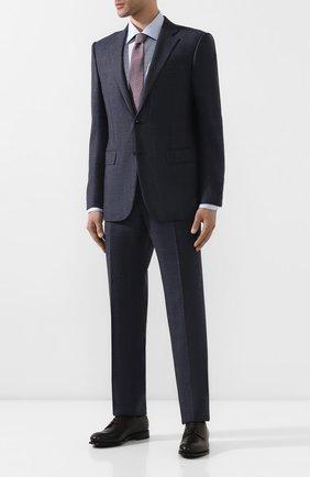 Мужской кожаные дерби ZEGNA COUTURE коричневого цвета, арт. A4418X-LHNAX | Фото 2